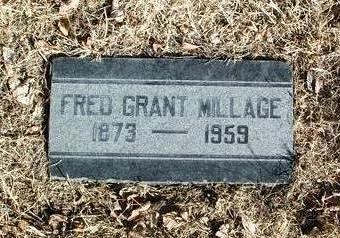 MILLAGE, FRED GRANT - Yavapai County, Arizona | FRED GRANT MILLAGE - Arizona Gravestone Photos