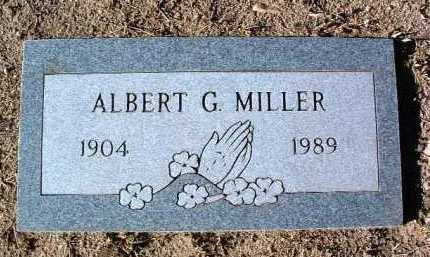 MILLER, ALBERT G. - Yavapai County, Arizona | ALBERT G. MILLER - Arizona Gravestone Photos