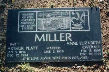 MILLER, ANNE ELIZABETH - Yavapai County, Arizona | ANNE ELIZABETH MILLER - Arizona Gravestone Photos