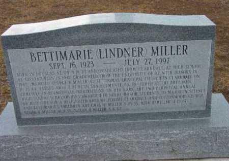 LINDNER MILLER, BETTIMARIE - Yavapai County, Arizona   BETTIMARIE LINDNER MILLER - Arizona Gravestone Photos
