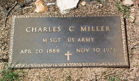 MILLER, CHARLES C. - Yavapai County, Arizona | CHARLES C. MILLER - Arizona Gravestone Photos