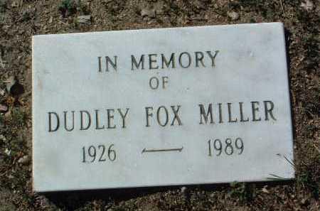 MILLER, DUDLEY FOX - Yavapai County, Arizona   DUDLEY FOX MILLER - Arizona Gravestone Photos
