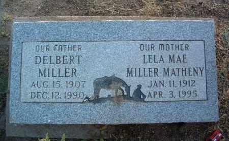 MILLER, LELA MAE - Yavapai County, Arizona | LELA MAE MILLER - Arizona Gravestone Photos