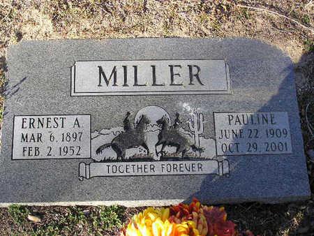 MILLER, PAULINE - Yavapai County, Arizona | PAULINE MILLER - Arizona Gravestone Photos