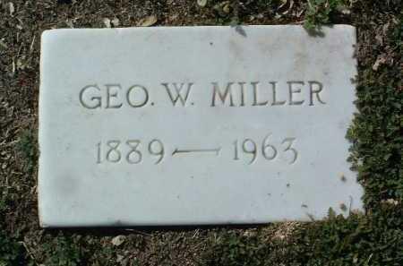 MILLER, GEORGE WESCOTT - Yavapai County, Arizona | GEORGE WESCOTT MILLER - Arizona Gravestone Photos