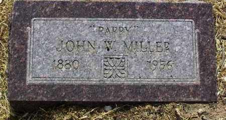 MILLER, JOHN W. (PAPPY) - Yavapai County, Arizona | JOHN W. (PAPPY) MILLER - Arizona Gravestone Photos