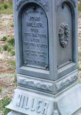 MILLER, JOHN - Yavapai County, Arizona   JOHN MILLER - Arizona Gravestone Photos