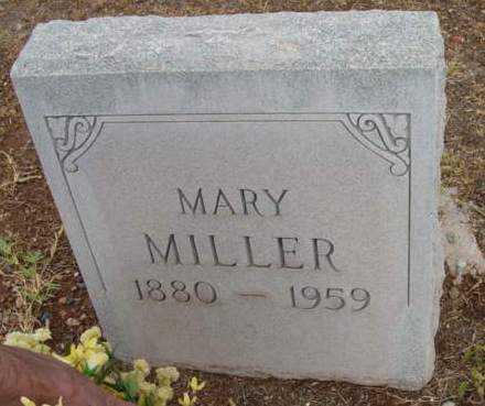 MILLER, MARY - Yavapai County, Arizona | MARY MILLER - Arizona Gravestone Photos