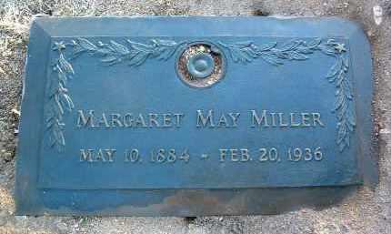 MILLER, MARGARET MAY - Yavapai County, Arizona   MARGARET MAY MILLER - Arizona Gravestone Photos