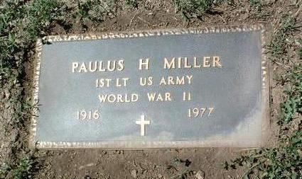 MILLER, PAULUS H. (PETE) - Yavapai County, Arizona | PAULUS H. (PETE) MILLER - Arizona Gravestone Photos
