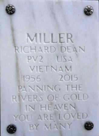 MILLER, RICHARD DEAN - Yavapai County, Arizona   RICHARD DEAN MILLER - Arizona Gravestone Photos