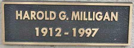 MILLIGAN, HAROLD G. - Yavapai County, Arizona | HAROLD G. MILLIGAN - Arizona Gravestone Photos