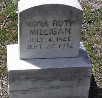 MILLIGAN, MONA RUTH - Yavapai County, Arizona | MONA RUTH MILLIGAN - Arizona Gravestone Photos