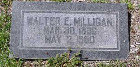 MILLIGAN, WALTER EDWIN - Yavapai County, Arizona | WALTER EDWIN MILLIGAN - Arizona Gravestone Photos