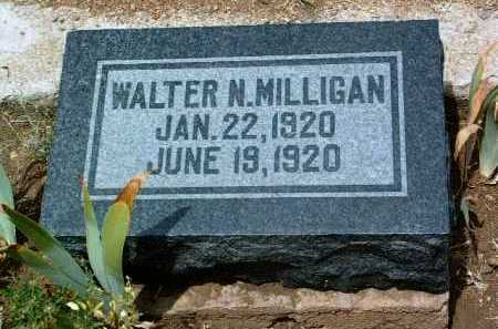 MILLIGAN, WALTER NOXIN - Yavapai County, Arizona   WALTER NOXIN MILLIGAN - Arizona Gravestone Photos