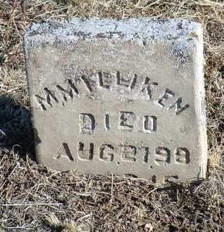 MILLIKEN, M. - Yavapai County, Arizona | M. MILLIKEN - Arizona Gravestone Photos