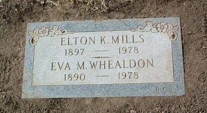 MILLS, ELTON K. - Yavapai County, Arizona | ELTON K. MILLS - Arizona Gravestone Photos