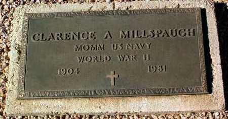 MILLSPAUGH, CLARENCE ALVIN - Yavapai County, Arizona   CLARENCE ALVIN MILLSPAUGH - Arizona Gravestone Photos
