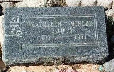 PATTERSON MINEER, K. - Yavapai County, Arizona   K. PATTERSON MINEER - Arizona Gravestone Photos