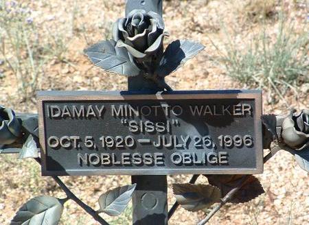 MINOTTO WALKER, IDA MAY - Yavapai County, Arizona | IDA MAY MINOTTO WALKER - Arizona Gravestone Photos