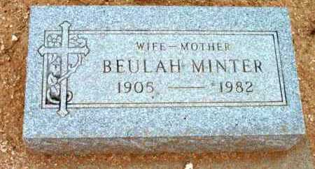MINTER, BEULAH - Yavapai County, Arizona | BEULAH MINTER - Arizona Gravestone Photos