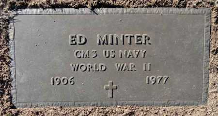 MINTER, ED - Yavapai County, Arizona   ED MINTER - Arizona Gravestone Photos
