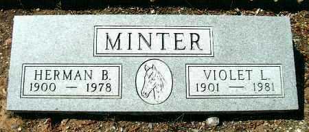 LEWIS MINTER, VIOLET - Yavapai County, Arizona | VIOLET LEWIS MINTER - Arizona Gravestone Photos