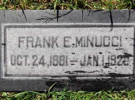 MINUCCI, FRANK - Yavapai County, Arizona | FRANK MINUCCI - Arizona Gravestone Photos