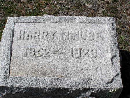MINUSE, HARRY - Yavapai County, Arizona | HARRY MINUSE - Arizona Gravestone Photos