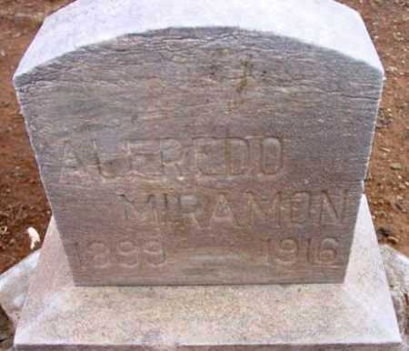 MIRAMON, ALFREDO - Yavapai County, Arizona | ALFREDO MIRAMON - Arizona Gravestone Photos