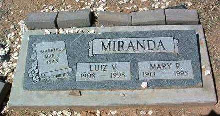 MIRANDA, LUIZ V. - Yavapai County, Arizona   LUIZ V. MIRANDA - Arizona Gravestone Photos