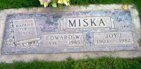 MISKA, EDWARD WILLIAM - Yavapai County, Arizona   EDWARD WILLIAM MISKA - Arizona Gravestone Photos