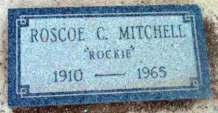 MITCHELL, ROSCOE C.  (ROCKIE) - Yavapai County, Arizona   ROSCOE C.  (ROCKIE) MITCHELL - Arizona Gravestone Photos