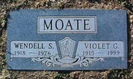 MOATE, VIOLET G. - Yavapai County, Arizona | VIOLET G. MOATE - Arizona Gravestone Photos