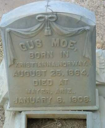 MOE, GUS - Yavapai County, Arizona | GUS MOE - Arizona Gravestone Photos