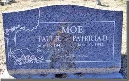 MOE, PAUL R. - Yavapai County, Arizona   PAUL R. MOE - Arizona Gravestone Photos