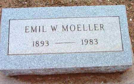 MOELLER, EMIL W. - Yavapai County, Arizona | EMIL W. MOELLER - Arizona Gravestone Photos