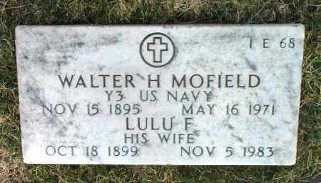 MOFIELD, LULU F. - Yavapai County, Arizona | LULU F. MOFIELD - Arizona Gravestone Photos