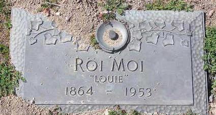 MOI, ROI  (LOUIE) - Yavapai County, Arizona   ROI  (LOUIE) MOI - Arizona Gravestone Photos