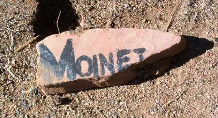MOINET, UNKNOWN - Yavapai County, Arizona | UNKNOWN MOINET - Arizona Gravestone Photos