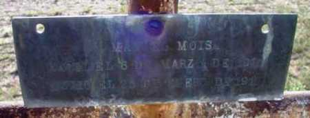 MOISA, UNKNOWN - Yavapai County, Arizona | UNKNOWN MOISA - Arizona Gravestone Photos