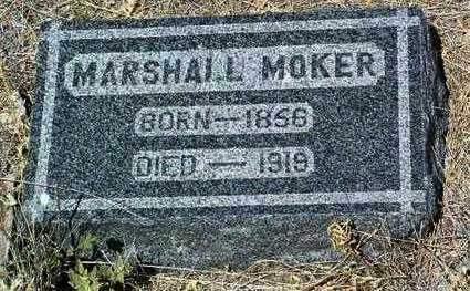 MOKER, MARSHALL - Yavapai County, Arizona   MARSHALL MOKER - Arizona Gravestone Photos