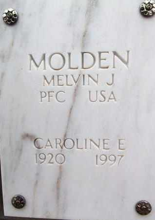 MOLDEN, MELVIN JAMES - Yavapai County, Arizona   MELVIN JAMES MOLDEN - Arizona Gravestone Photos