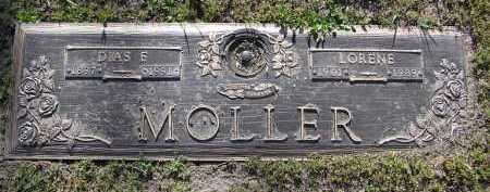 MOLLER, LORENE - Yavapai County, Arizona | LORENE MOLLER - Arizona Gravestone Photos