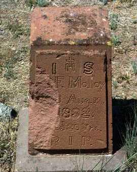 MOLLOY, JOHN F. - Yavapai County, Arizona | JOHN F. MOLLOY - Arizona Gravestone Photos