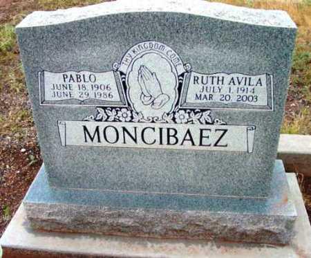 MONCIBAEZ, RUTH A. - Yavapai County, Arizona | RUTH A. MONCIBAEZ - Arizona Gravestone Photos
