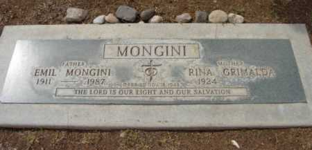 MONGINI, RINA - Yavapai County, Arizona | RINA MONGINI - Arizona Gravestone Photos