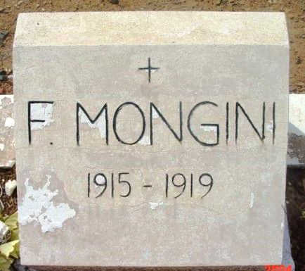 MONGINI, F. - Yavapai County, Arizona | F. MONGINI - Arizona Gravestone Photos