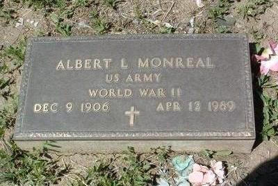 MONREAL, ALBERT LEO - Yavapai County, Arizona | ALBERT LEO MONREAL - Arizona Gravestone Photos