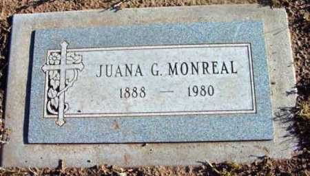 MONREAL, JUANA G. - Yavapai County, Arizona | JUANA G. MONREAL - Arizona Gravestone Photos